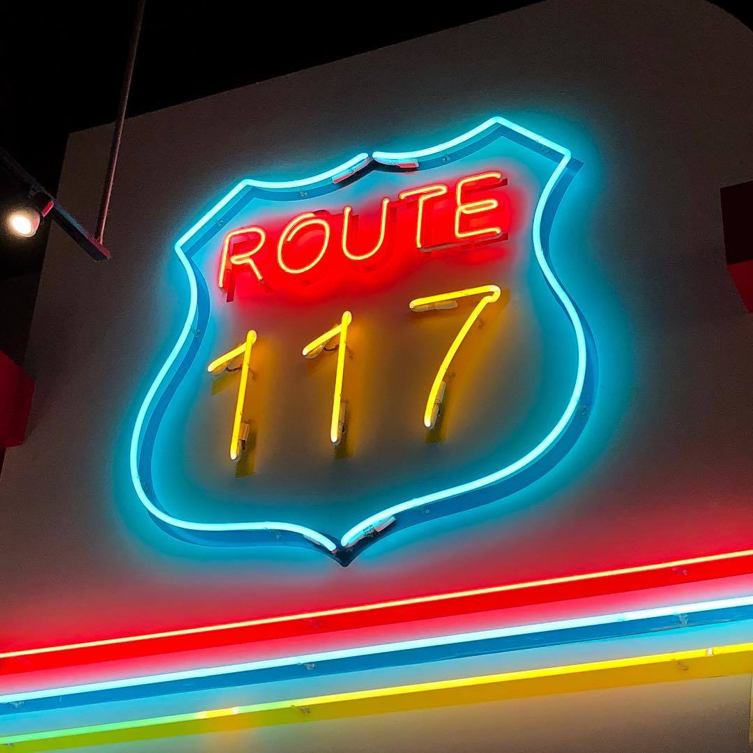Route 177 Jukebox Burgers Restaurant Neon Light Retro Dinner Jaykasza